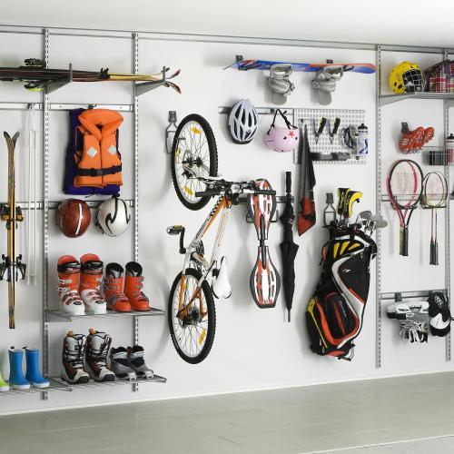 regale garage keller