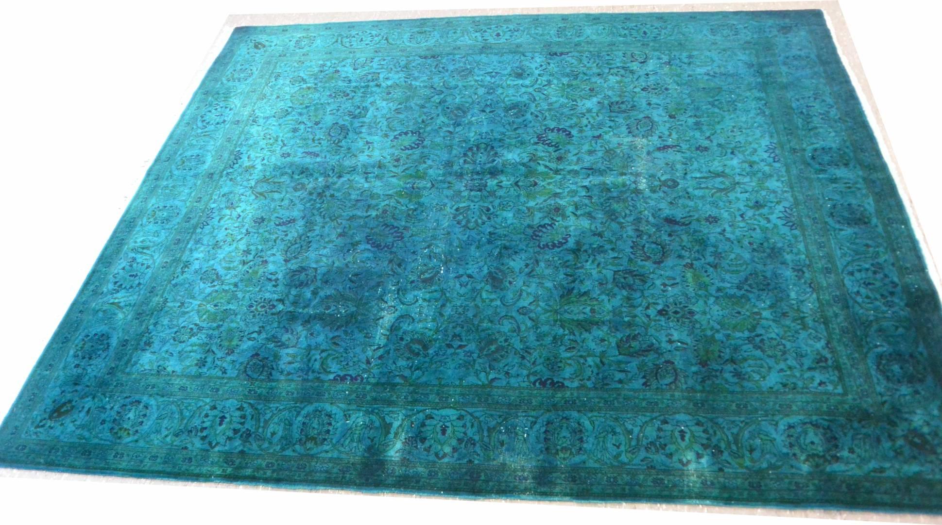 Teppich umfärben